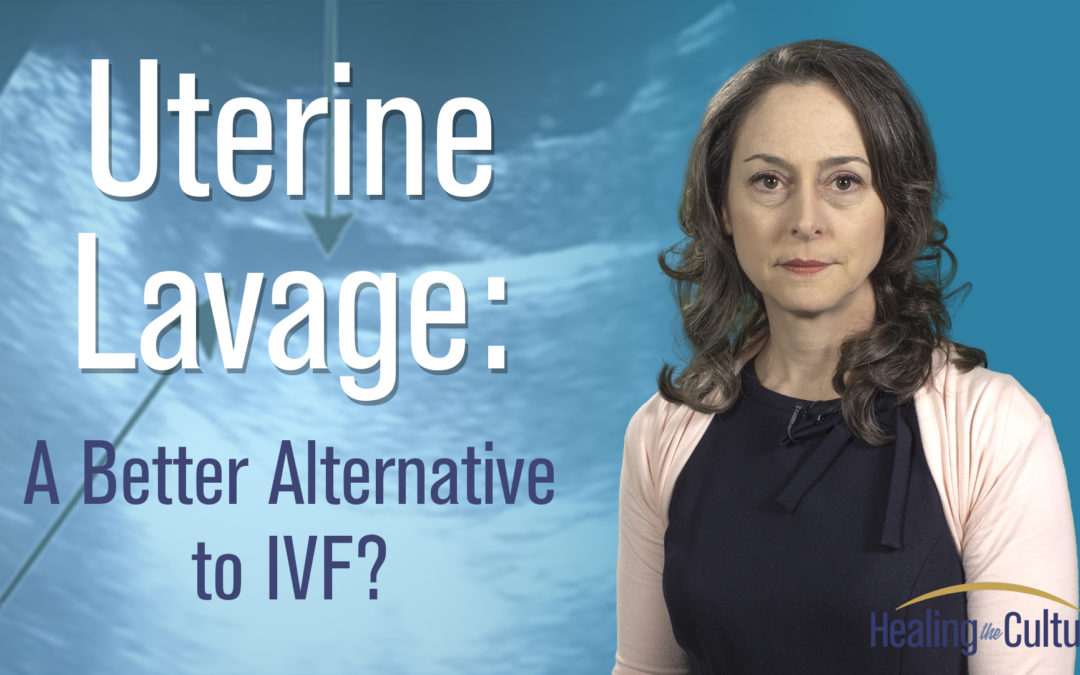 Is uterine lavage a better alternative to in vitro fertilization?